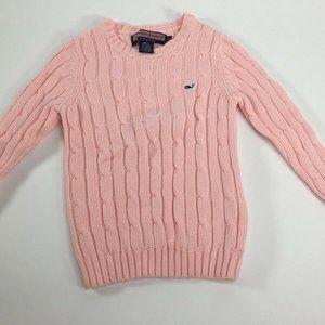 Vineyard Vines Women's Pink Sweater Size 4T
